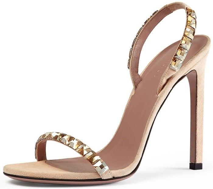 Gucci Mallory Jeweled Sandals