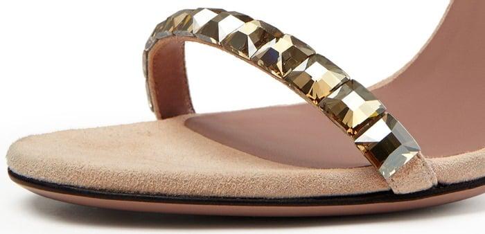 Gucci 'Mallory' Jeweled Sandals
