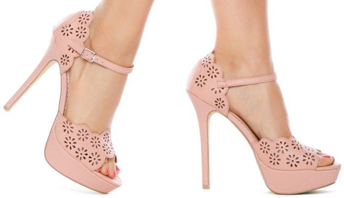 Hazelle Ankle-Strap Sandals