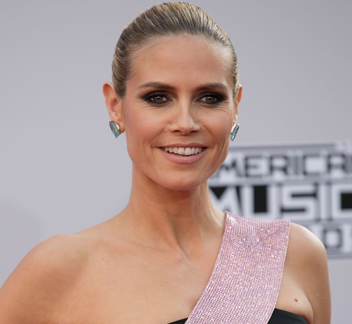 Fashion critics say Heidi Klum was one of the worst dressed at the event