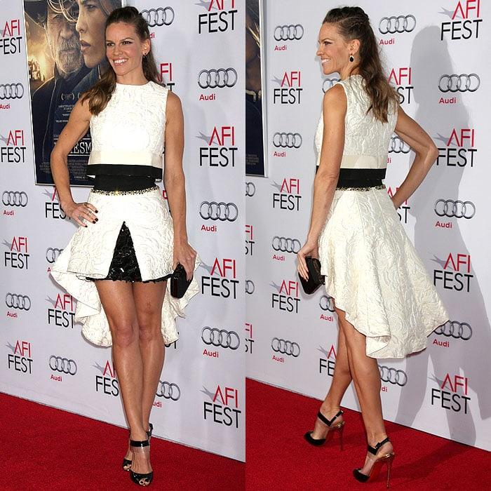Hilary Swank The Homesman 2014 AFI Fest 1