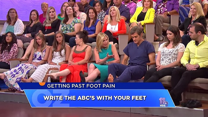 Suzanne M. Levine shows how to strengthen all the muscles in your feet