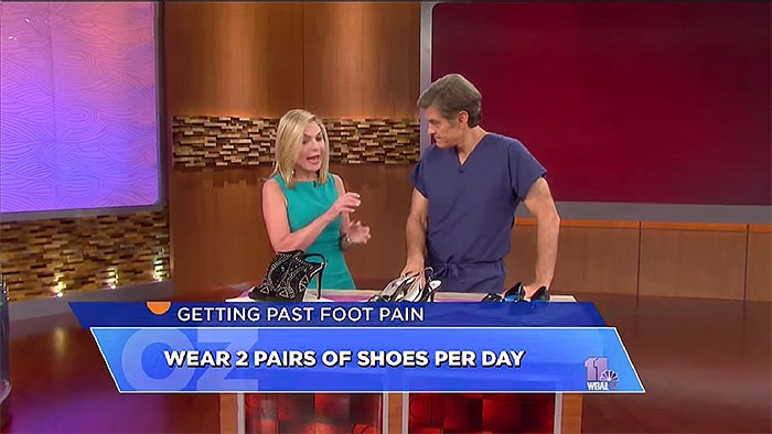 How to ease foot pain from heels