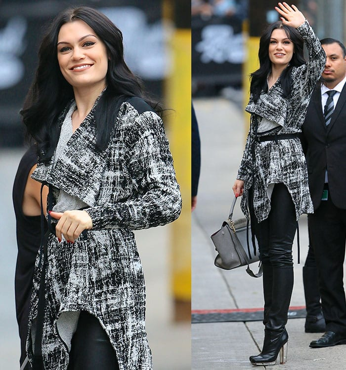 Jessie-J-Outside-Jimmy-Kimmel-Live-Studios