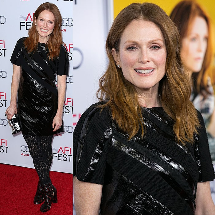 Julianne Moore at the special screening of Still Alice presented by Audi held during the 2014 AFI Fest at the Dolby Theatre in Hollywood, California, on November 12, 2014