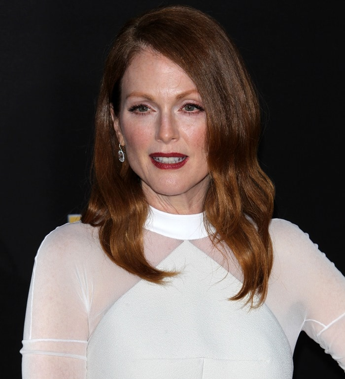 Julianne Moore at the 18th Annual Hollywood Film Awards in Los Angeles on November 14, 2014