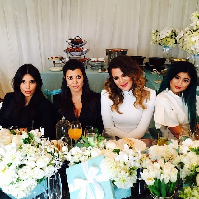 Kourtney Kardashian's Instagram snap from her baby shower