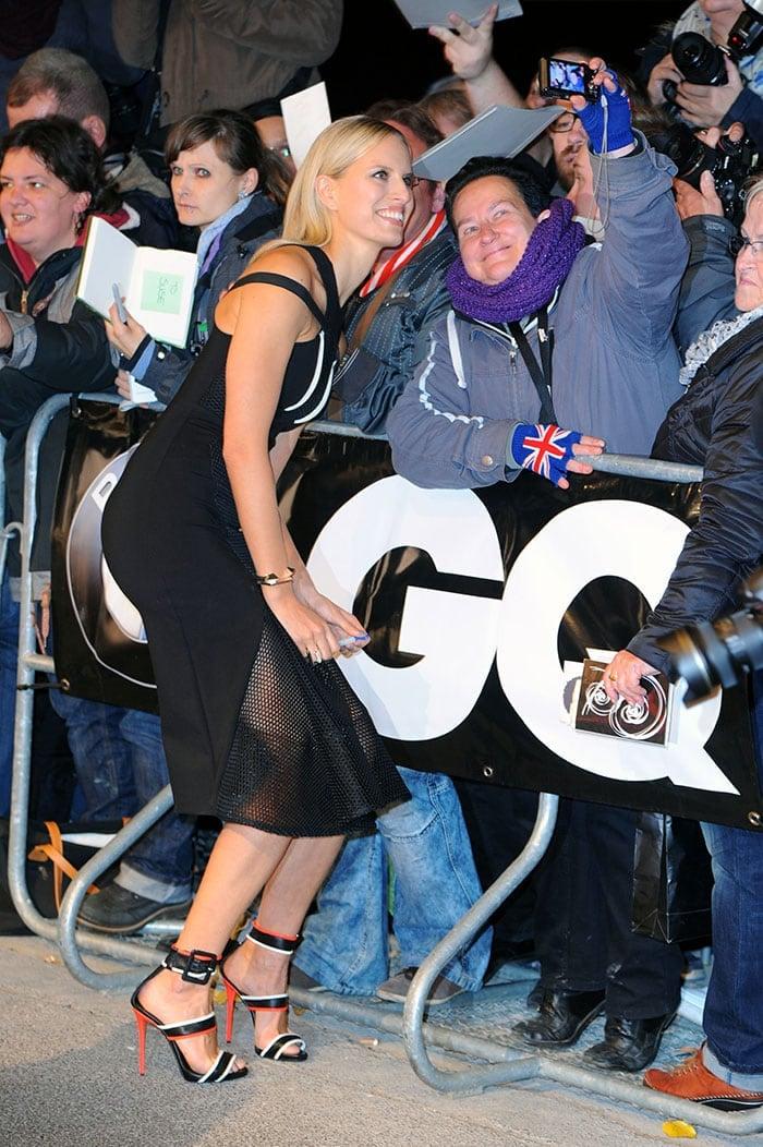 Karolina Kurkova at the GQ Men of the Year Awards