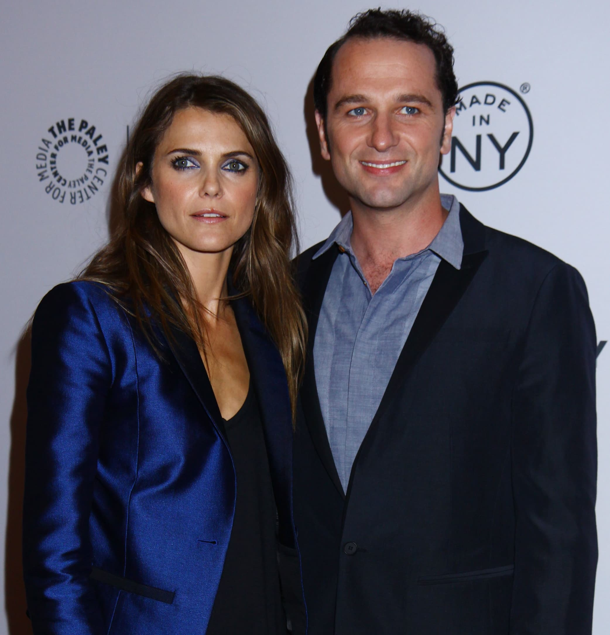 Keri Russell and Matthew Rhys started dating after meeting on the set of The Americans