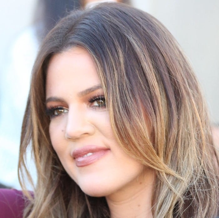 Khloe Kardashian out for lunch at Cuvée on Robertson Boulevard in Los Angeles on November 6, 2014