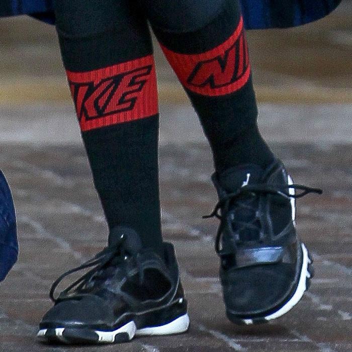 Khloe Kardashian's Air Jordan sneakers