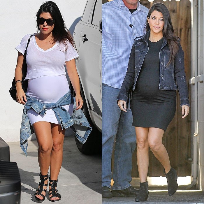 Kourtney Kardashian style
