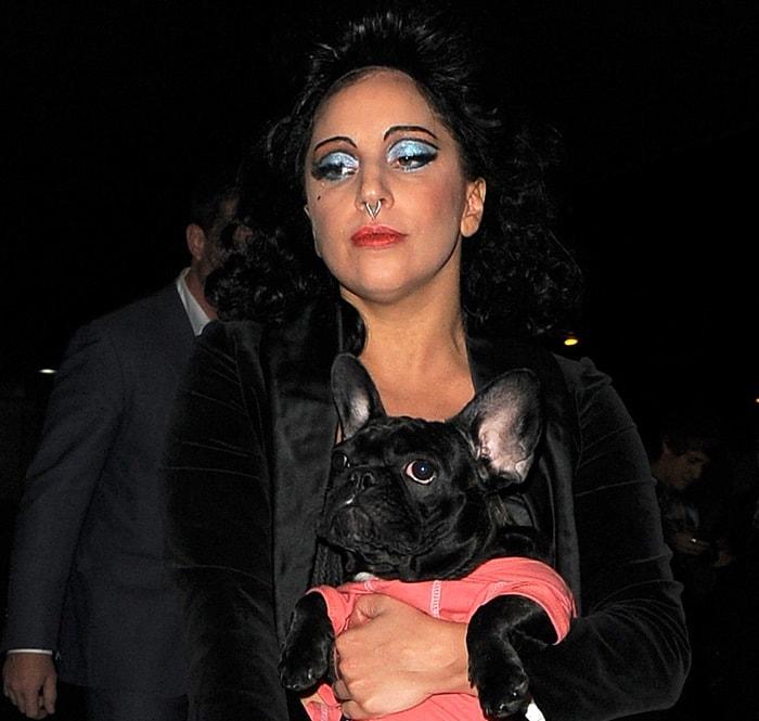 Lady Gaga leaves Barcelona