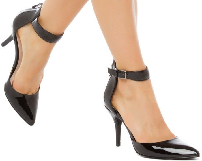Lana Pointy-Toe Ankle-Strap Pumps