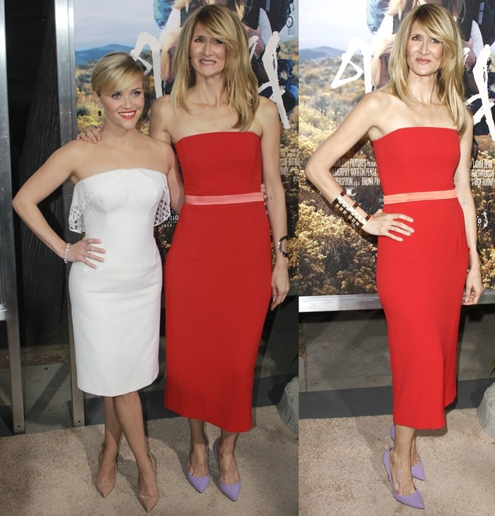 Reese Witherspoon and Laura Dern at the premiere of Wild at the AMPAS Samuel Goldwyn Theater in Beverly Hills on November 19, 2014