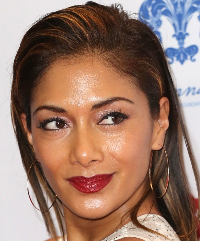 Nicole Scherzinger at the 2014 Global Gift Gala at the Four Seasons Hotel in London, England, on November 17, 2014