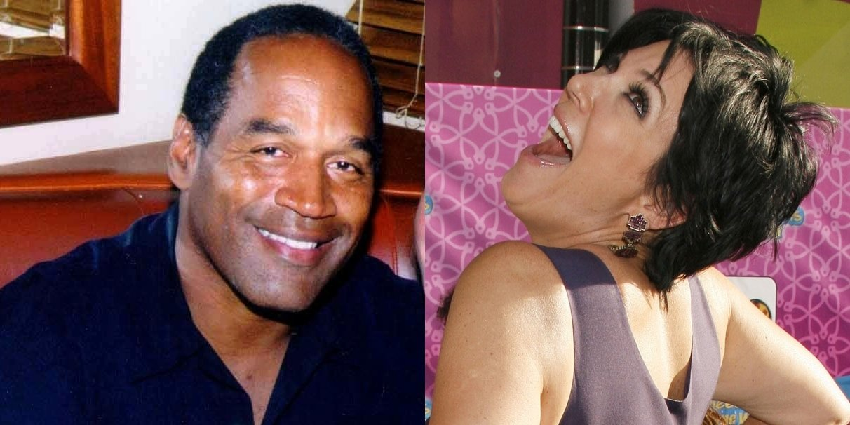 Kris Jenner is rumored to have had an affair with disgraced NFL star O.J. Simpson