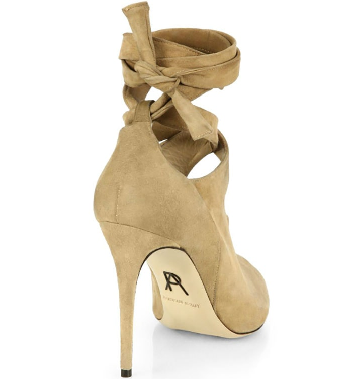 Paul Andrew Glove Suede Tie-Up Ankle Boots