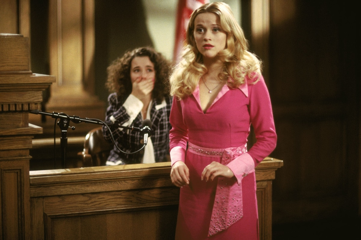 Reese Witherspoon as Elle Woods in the 2001 American comedy film Legally Blonde