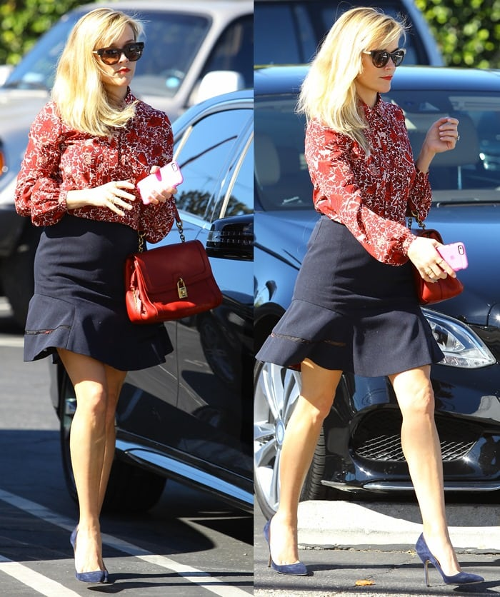 Reese Witherspoon out and about