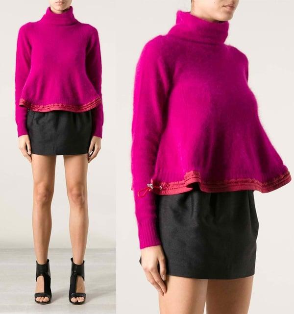 Sacai Peplum Sweater