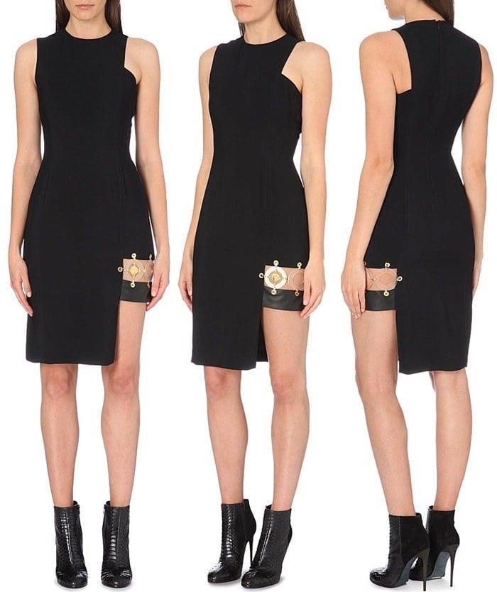 VERSUS X ANTHONY VACCARELLO Abito Bonna Tessuto crepe dress