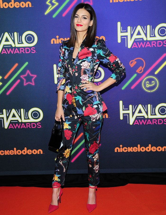 Victoria Justice at the Nickelodeon HALO Awards 2014 in New York City on November 15, 2014