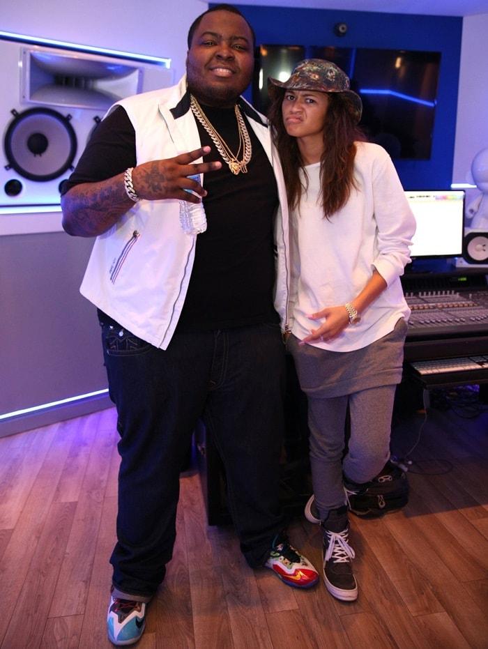Zendaya Coleman and Rapper Big Sean