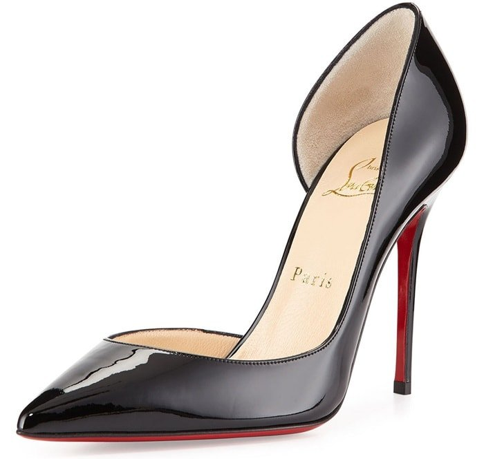 "Christian Louboutin ""Iriza"" Pumps in Black Patent Leather"
