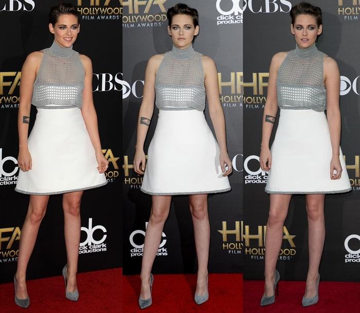Kristen Stewart'sChanel dress seemed like a knockout with its A-line skirt