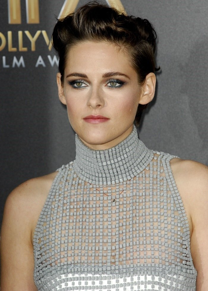 Kristen Stewart at the 18th Annual Hollywood Film Awards in Los Angeles on November 14, 2014