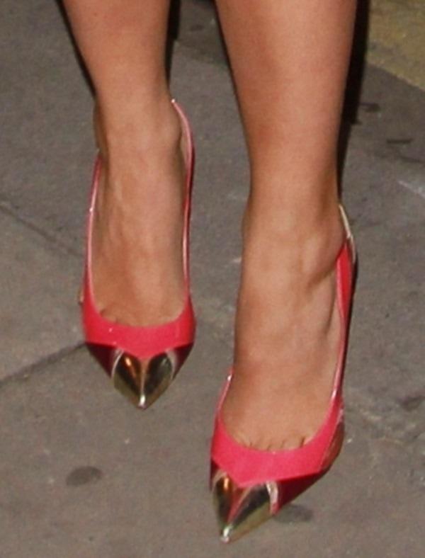 rita ora barbie costume shoe
