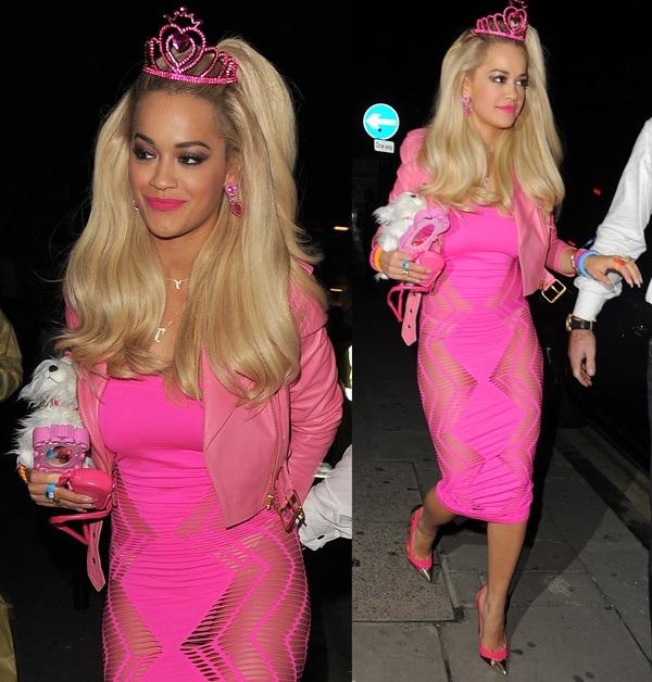 rita ora barbie costume