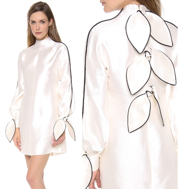 Long Sleeve Bow Dress