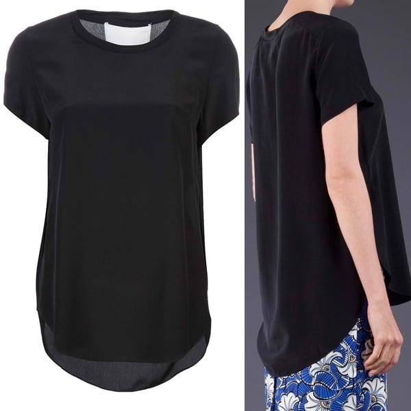 3.1 Phillip Lim Overlap T-Shirt
