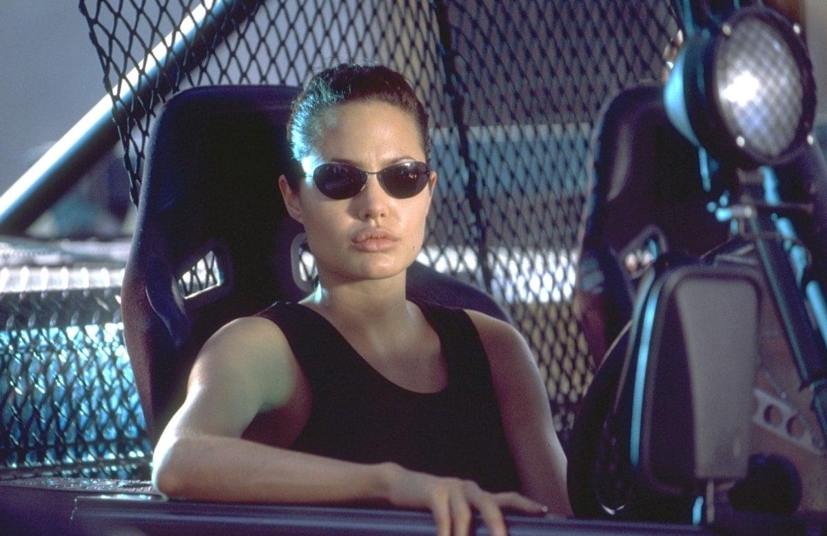 Angelina Jolie wore a padded bra to make her boobs look bigger in Lara Croft: Tomb Raider