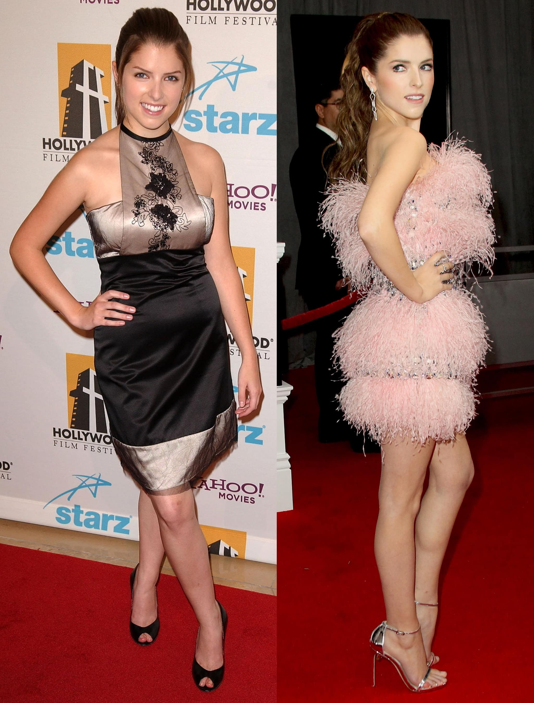 Not confident about her height growing up, Anna Kendrick wears high heels to make her legs look longer