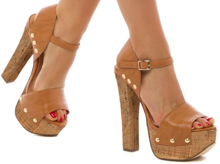 Ava Block-Heeled Sandals