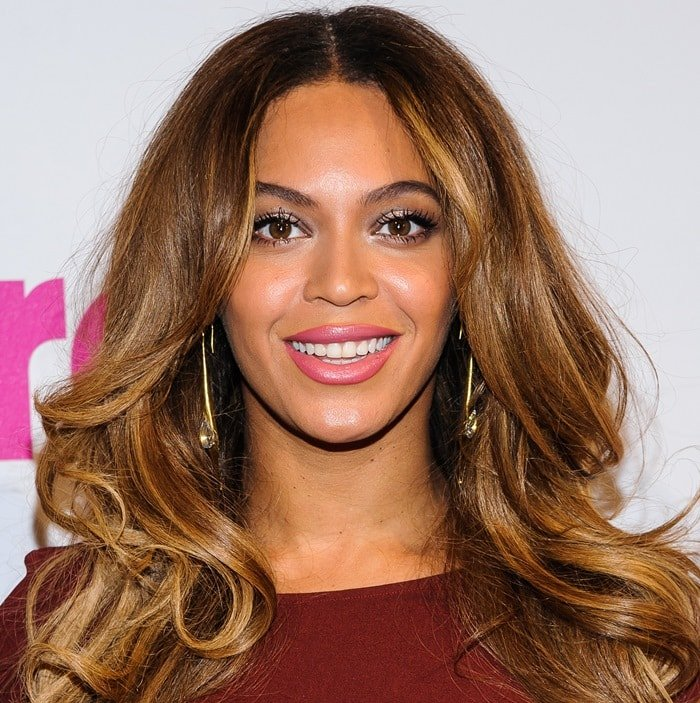 Beyoncé Giselle Knowles-Carter at the 2014 Billboard Women in Music Luncheon held at Cipriani Wall Street in New York City on December 12, 2014