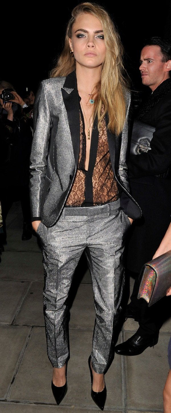 W Magazine Dinner - London Fashion Week Spring/Summer 2014