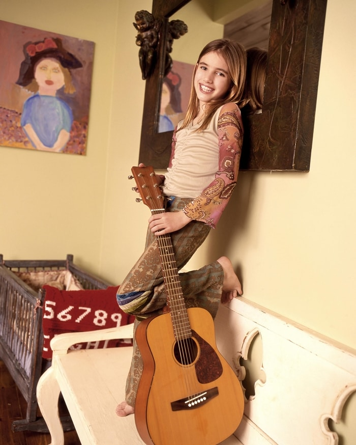 Emma Roberts as the 13-year-old main character Addie Singer in Unfabulous