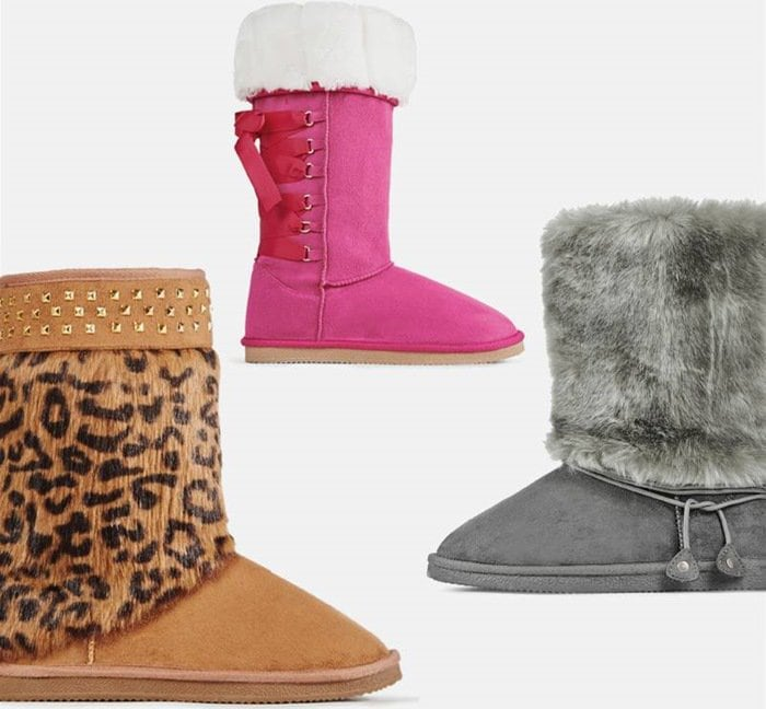 Super Soft Fuzzy Boots
