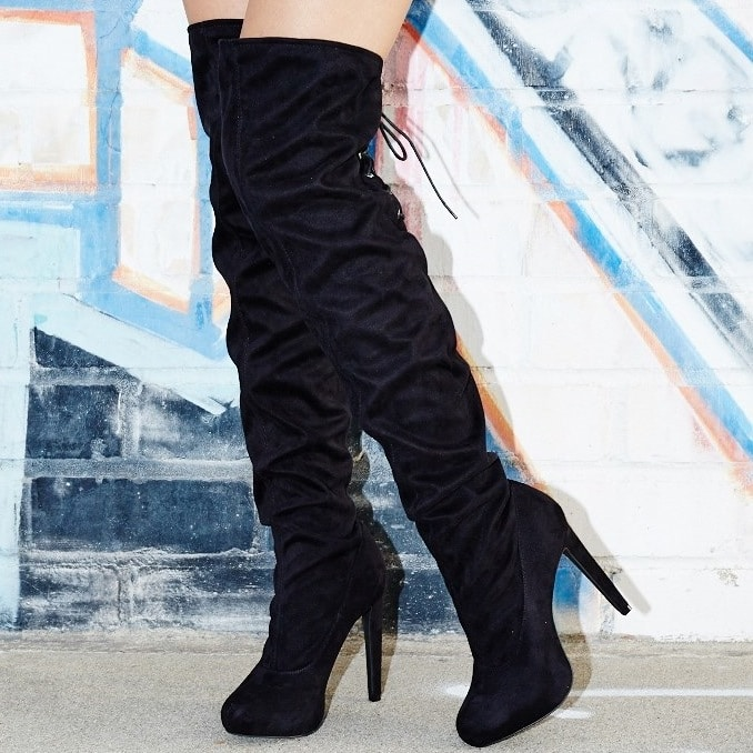Sexy Gigi Over-the-Knee Boots