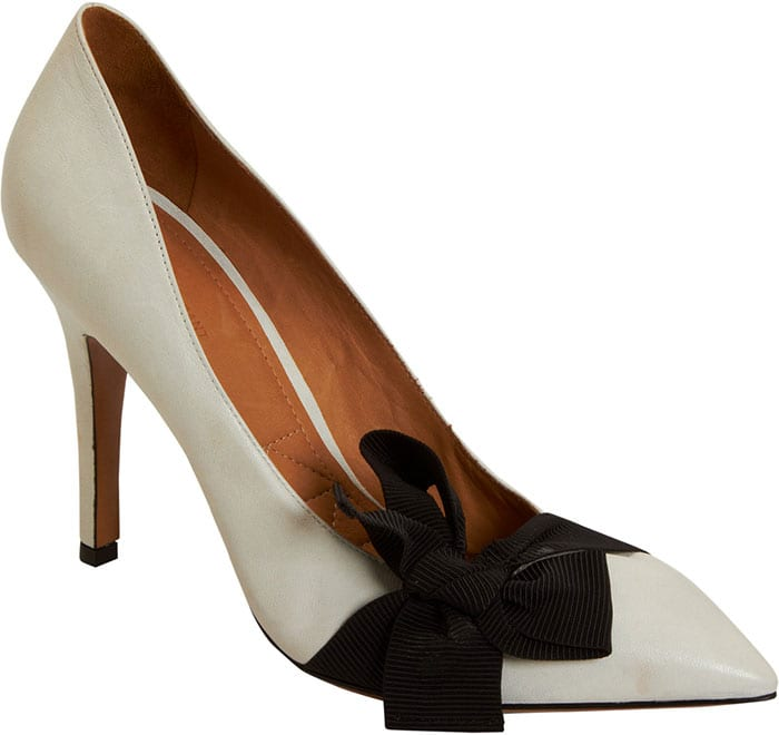 Isabel Marant Poppy Pumps in Black and White