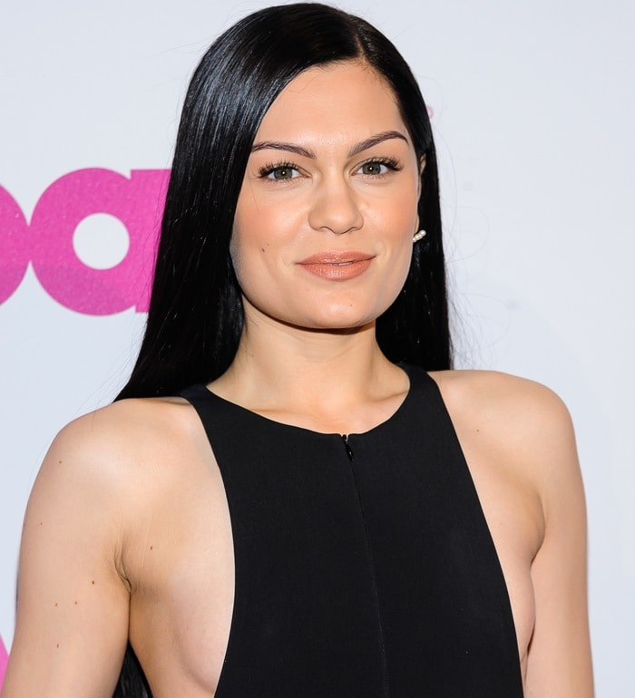 Jessie J at the 2014 Billboard Women in Music Luncheon held at Cipriani Wall Street in New York City on December 12, 2014