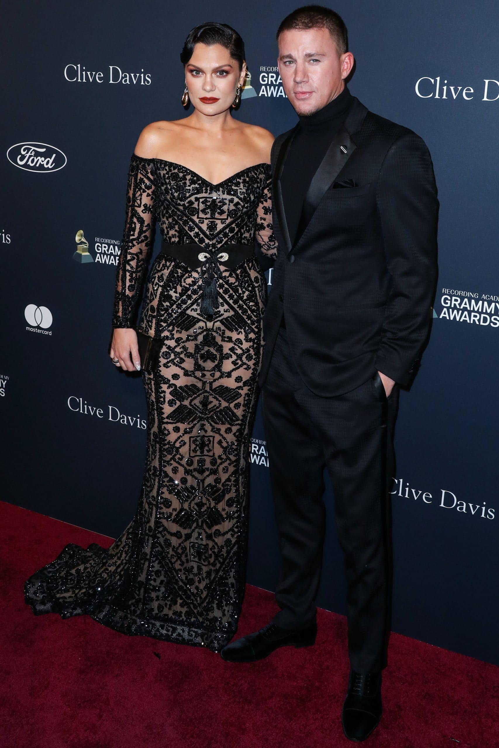 Jessie J and Channing Tatum attend the Pre-GRAMMY Gala