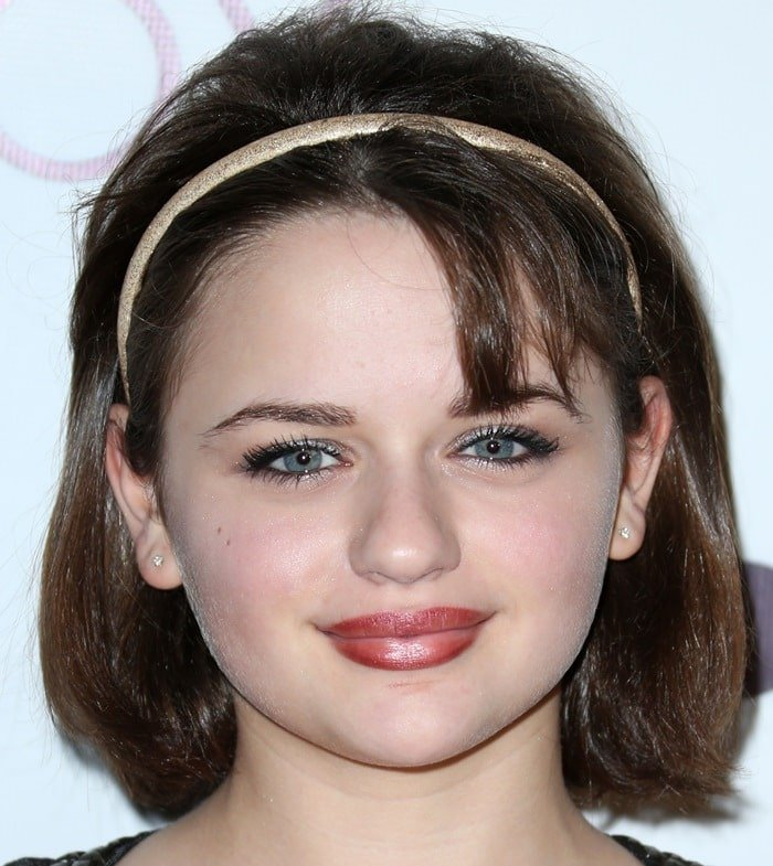 Joey King at the Wayke Up fundraiser presented byWildfox and Ladygunn held at the Sofitel Hotel in West Hollywood on December 14, 2014
