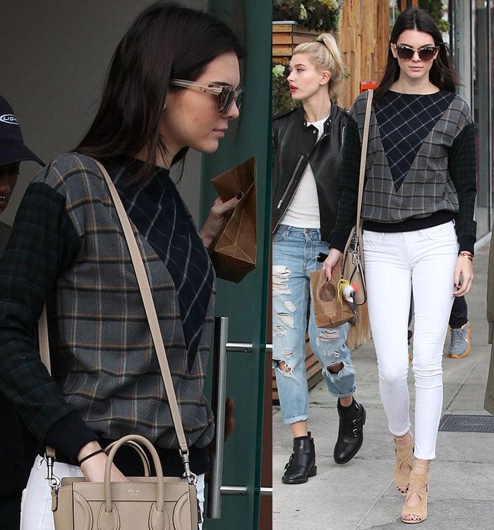 Kendall Jenner visiting Sprinkles Cupcakes in Beverly Hills on December 17, 2014
