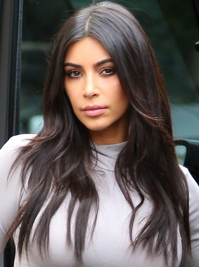 Kim Kardashian U0026 39 S Booty Looks Rounder Than Ever In Ugly