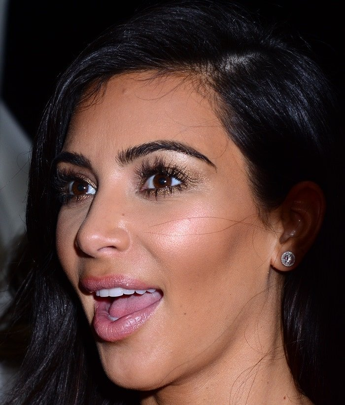 Kim Kardashian at the Paper Magazine, Sprout by HP, and DKNY Break the Internet Issue Release Party